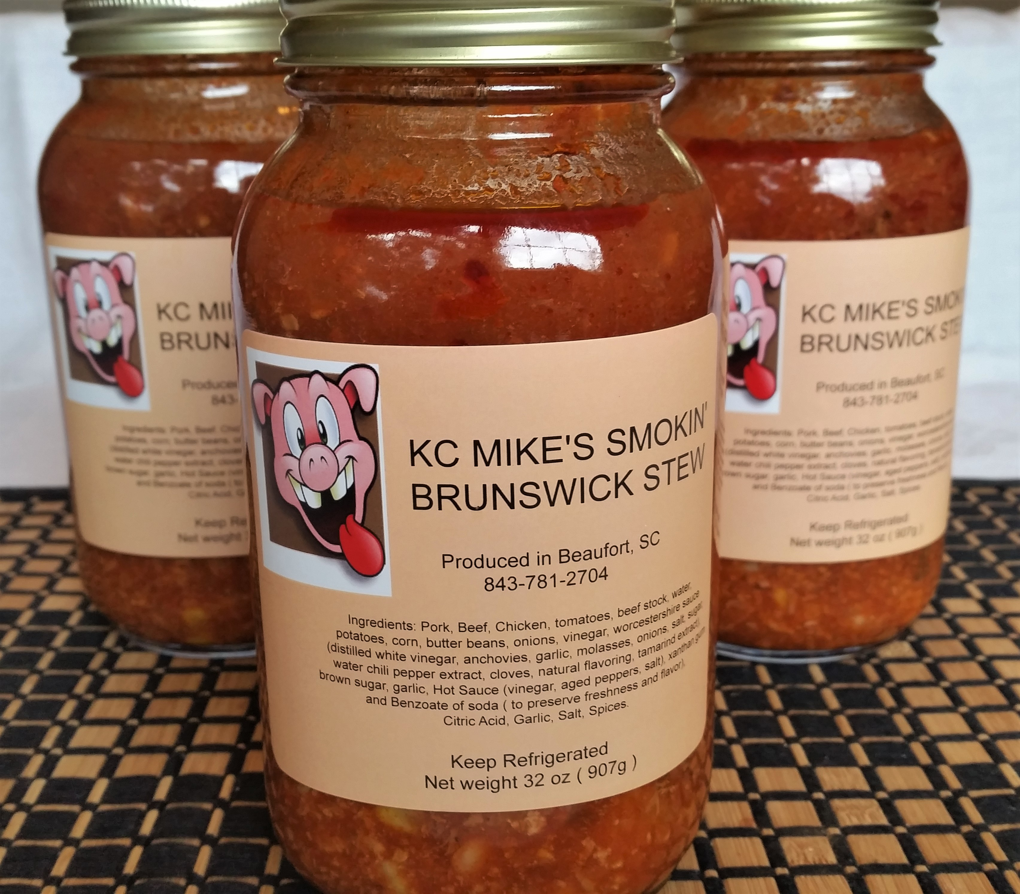 3 Quarts Of Brunswick Stew Direct To You From KC Mike's